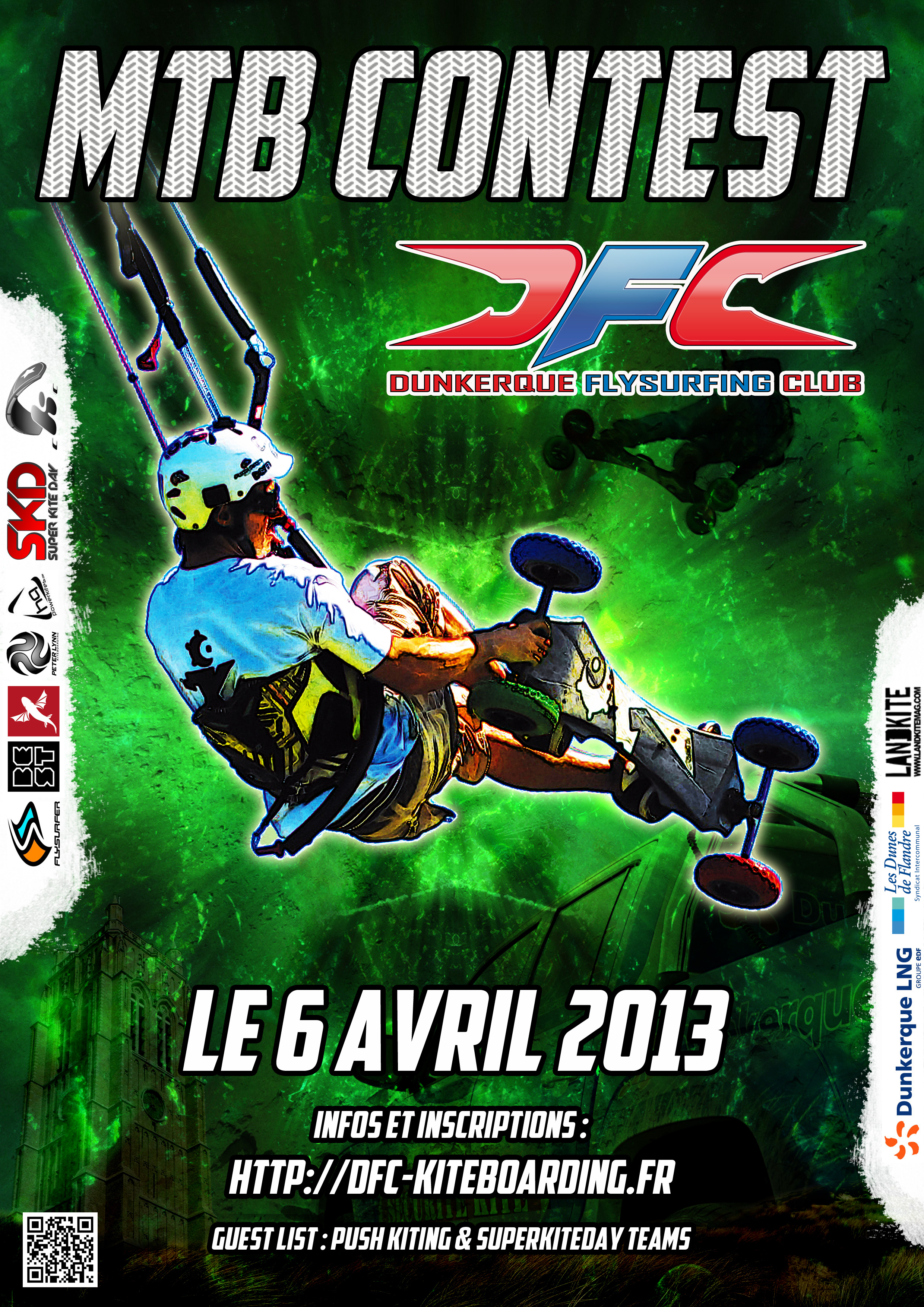 Affiche MTB Contest 2013