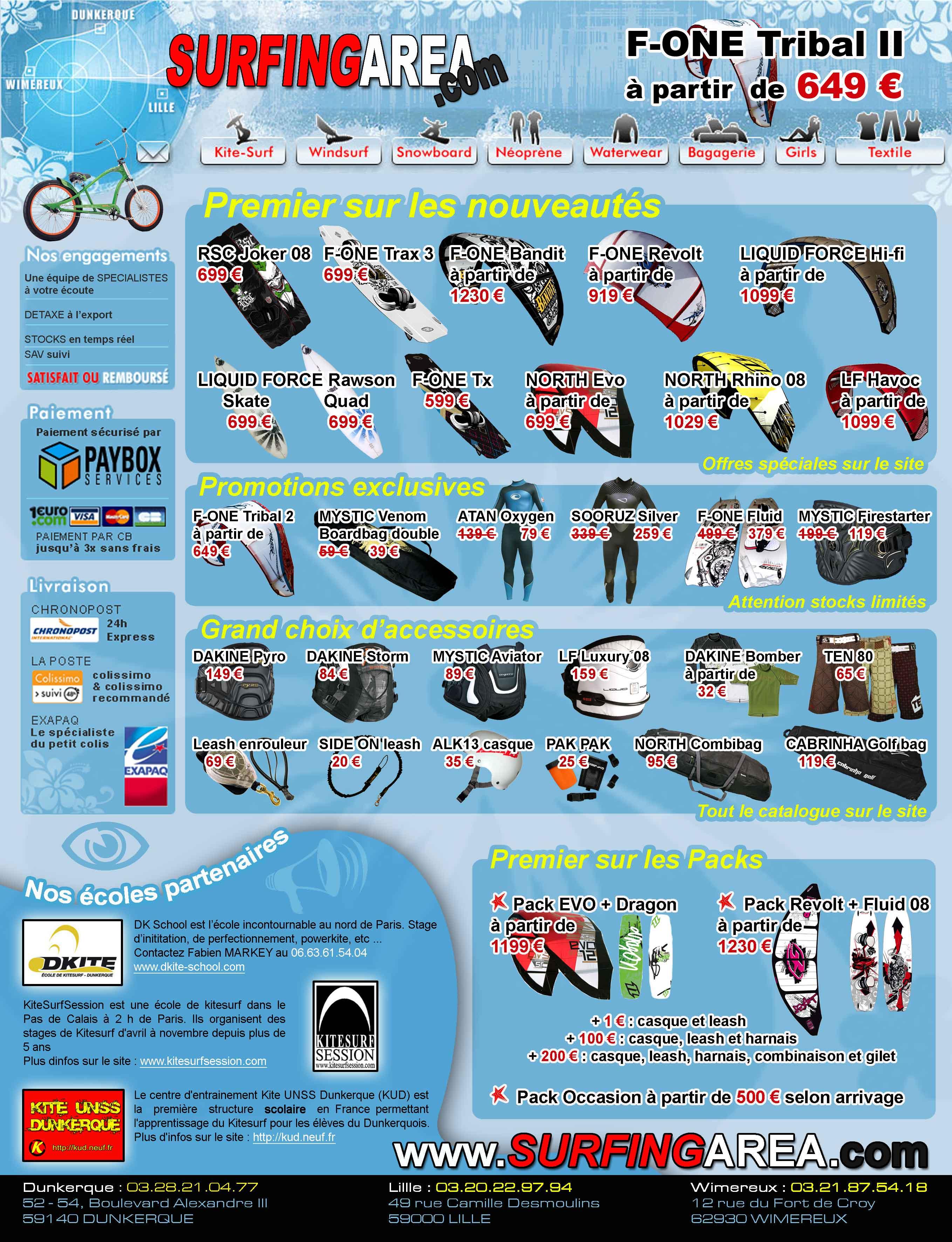 Publicité Surfingarea