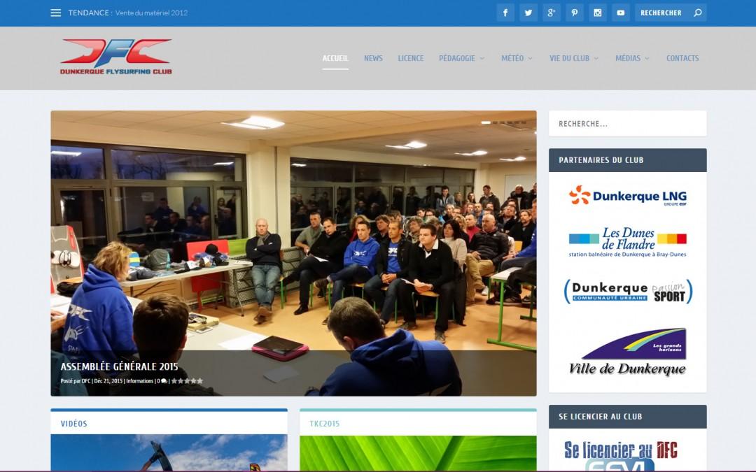 Site du DFC 3.0