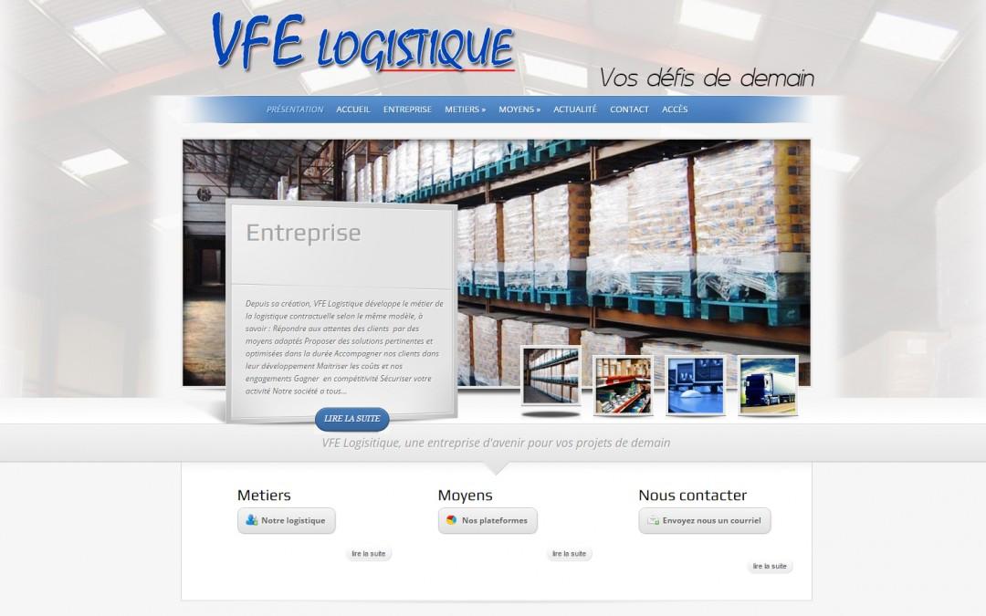 Site de VFE Logistique